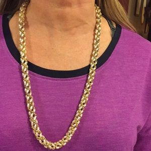 Jewelry - 2 for $15,Vintage pearl, gold tone beaded necklace